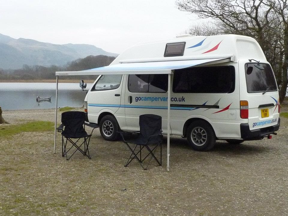 One Of The Many Benefits Hiring A Gocampervan Is Interior Layout They All Have Rear Kitchens Which Gives You Big Benefit Very Wide Double