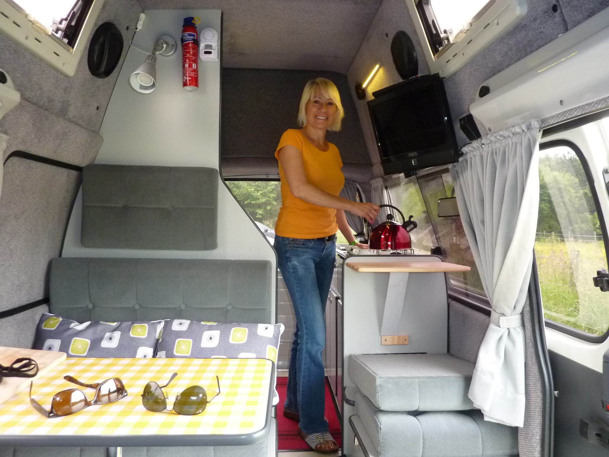 Uk Campervan And Motorhome Hire North East England